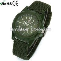 Men's Military Watches Mans Boys' Gemius Army Watch Nylon Quartz watch