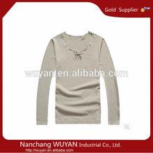 luxury plain ladies t-shirts fashion style ladies spandex t-shirts wholesale