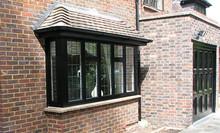 modular office building swing window cornice