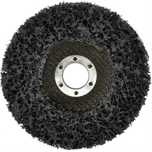 "4"" CNS paint rust stripping & clean flap disc with fiber glass backing"