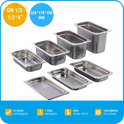 New Product Stainless Steel Metal Food Storage Container