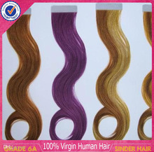 Fashion hair extensions fast delivery indian remy double sided tape hair extension wholesale tape hair extensions