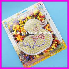 Educational plastic diy hama beads toy mini hama beads kit craft /2014 Newest Popular Creation Kids DIY toys mini hama beads