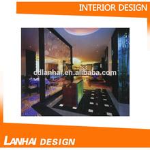 Commercial Restaurant Interior Decoration Design