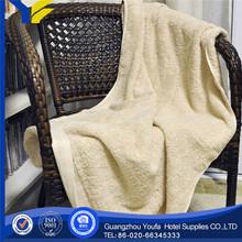 bleached hot sale 100% organic cotton brand boost customizing gift bath towel