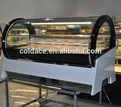 Supermarket ice cream refrigerator showcase/ice cream freezer case