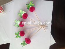 wooden decorative toothpicks christmas