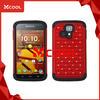 Z1254 Red Diamond Design Hybrid Phone Case Cover For Hydro Life C6530