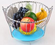 Home Storage Rack Stainless Steel Mesh Fruit Basket