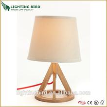 2014 zhongshan modern/handmade/stylish wood/wooden table/desk/reading lamps