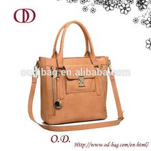 walmart wholesale fashion PU ladies bag, woman leather tote bag
