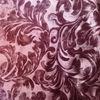 embossed pink golden diamond velvet fabric for sofa