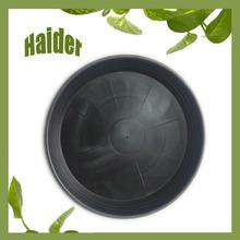 Hot many size black plastic flower pot 7 inch pp pot cover