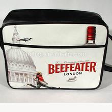 shiny pvc leather teen messenger bag