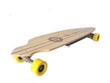 500W High quality electric skateboard thin skateboard professional bamboo skateboard