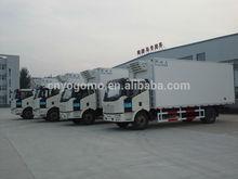 volvo/benz/hyundai 170/kia/isuzu/hino/nissan refrigerator truck body
