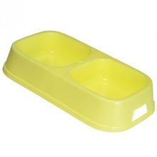 plastic 24cm dog dish dog products