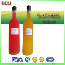 2014 New Popular EU Standard Cocktail Mix Drink Bar Flavoured Syrup