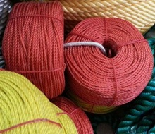 color pp twine for agriculture baling/packing/binding