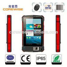 Handheld android tablet pc, 1D/2D code scanner, RFID reader, biometric fingerprint door lock