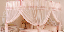 2014HongYun Decorative and functional king size circular wholesale mosquito net pop up