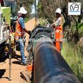 en plastique de grand diamètre hdpe pipe pe100 pour approvisionnement en eau