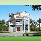 highly modularized steel structure house,modern luxury villa