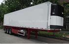 three axles/double axles 45feet fiberglass refrigerated semi trailer van box/ trailer body