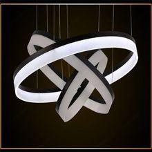 Modern led pendant light for home,3 circles led pendant lighting,led pendant track lighting fixtures