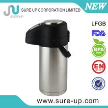 Airline Very popular 2012 newest design vacumm stainless steel air potair pump pot