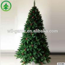 Hot Selling PVC Christmas Tree 6.9 Feet (210cm) Wholesale Low Price Christmas Decoration