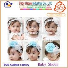 MOQ 100/mix 4 design infant toddler weave baby headband