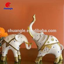 Factory Custom China Wholesale Resin Wedding Elephant Figurines