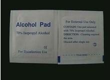 medical non-woven sterile 70%Isopropyl alcohol prep pads