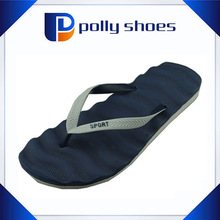 New arrival fashion eva blue house flip flop foot massage flip flop base