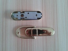 Mirror polished metal steel gold plated forge casting door knock