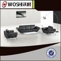 rústico real sofá de couro conjunto