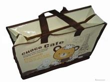 shanghai own factory high quality garments zipper poly bags