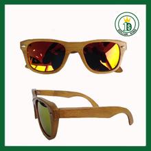 Revo Lens Wooden Sunglasses Zebra Wood Wayfarer Sun Glasses Gifts