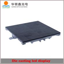 Super slim indoor P10 led module display cabinet/P5, P6, P7, P10 aluminum alloy rental led screen/quilt display cabinets