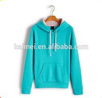 cheap hooded sweatshirt wholesale pullover fitted hoodie ladies bright color hoodies