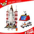 souvenirs de cumpleaños para niños figuras en miniatura jugueteseducativos formas de plástico bloque de construcción de cohetes de juguete lanzador f25806 lanzamiento