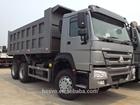 Sinotruk 6x4 Left Hand Driving Strong Cargo Box hydraulic10 Wheel HOWO Dump Trucks 10 wheel 30t dump truck dimension