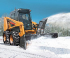farm tractor snow blower/best single stage snow blower/tractor snow thrower loader attachment