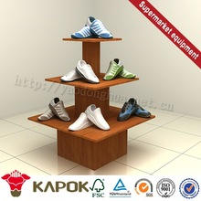 Best price of basketball shoes display rack for sale in china