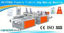 XD-PT800 shopping polythene plastic bag making machine