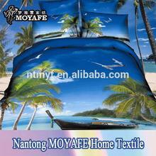 landscape design for cotton 3D Duvet cover bedding set