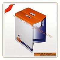 Customize reliance door handle hardware s-shape corrugated paper furniture