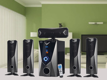 FM radio home theater system with new design/private mould