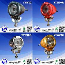 Y&T 10w headlights motorcycle led work light motorbike led light kit for Harley Davidson